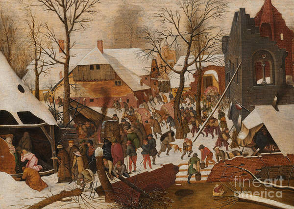Wall Art - Painting - The Adoration Of The Magi by Pieter the Younger Brueghel