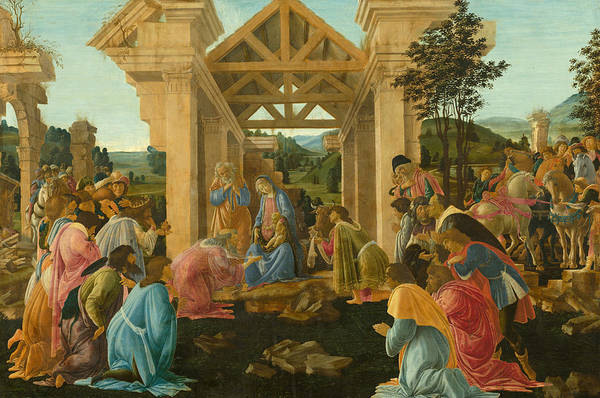 Painting - The Adoration Of The Magi by Sandro Botticelli
