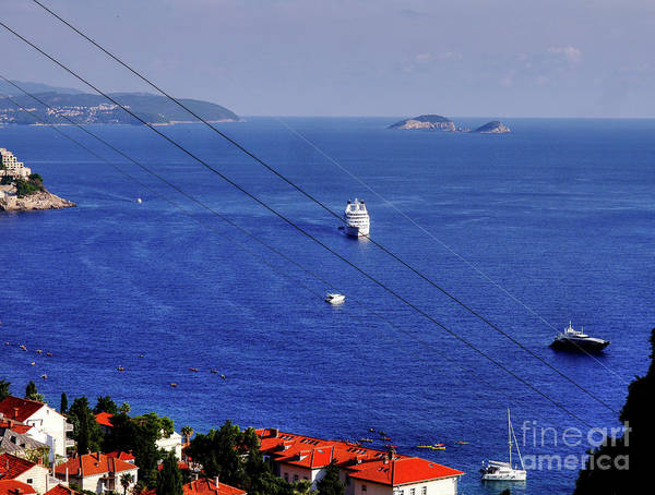 Photograph - The Adriatic Sea by Lance Sheridan-Peel