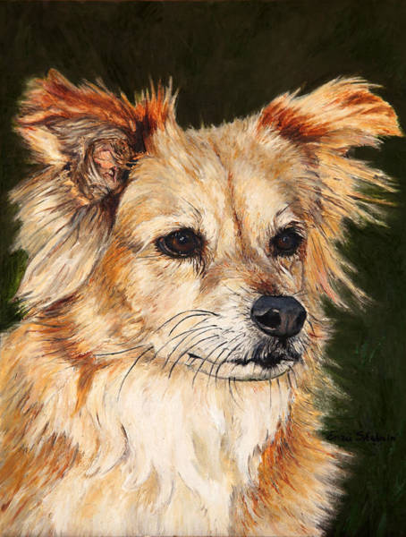 Wall Art - Painting - The Adventurous Dog by Portraits By NC