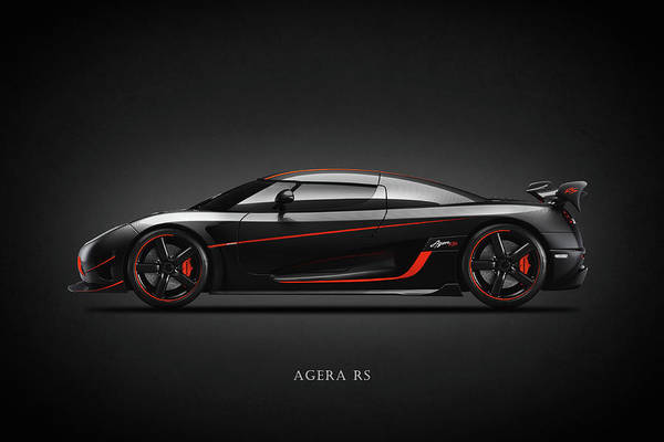 Supercar Photograph - The Agera Rs by Mark Rogan