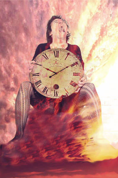 1604 Photograph - The Agony Of Time by Damali Conceptuals