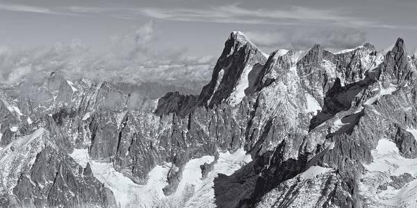 Photograph - The Aiguille Du Midi View by Stephen Taylor