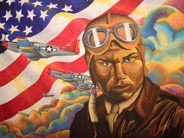 Painting - The Airman by William Roby