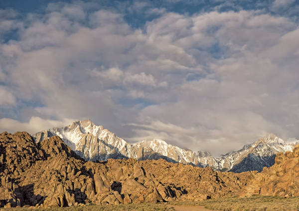 Photograph - The Alabama Hills And Eastern Sierra by Loree Johnson