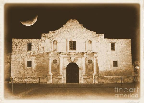 Photograph - The Alamo Greeting Card by Carol Groenen