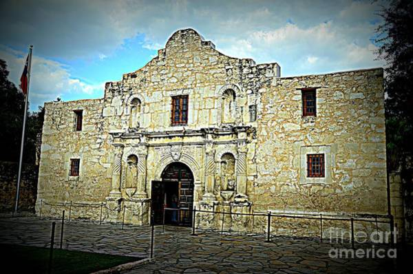 Photograph - The Alamo by Jim Cook