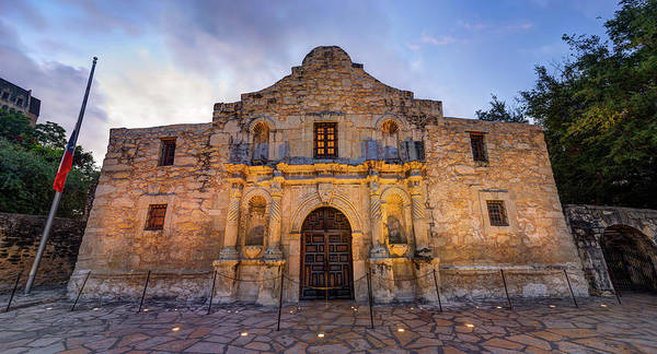Photograph - The Alamo - San Antonio Texas by Gregory Ballos