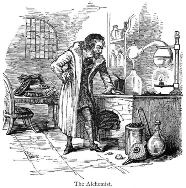 Photograph - The Alchemist by Granger
