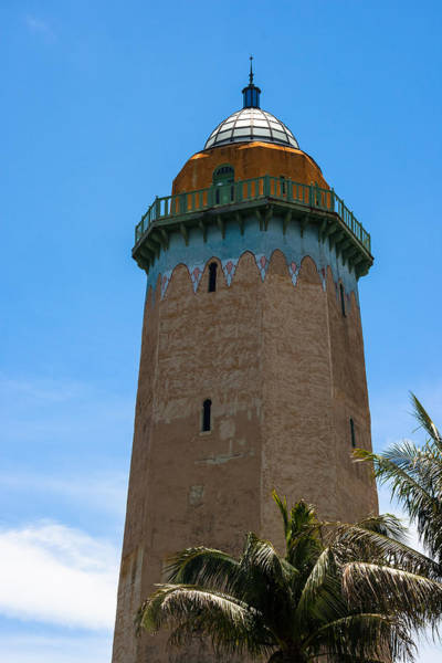 Photograph - The Alhambra Water Tower by Ed Gleichman