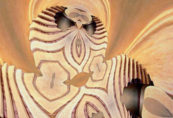 Digital Art - The Alien by Paul Wear
