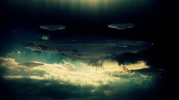 Babylon Photograph - The Aliens Are Here By Raphael Terra by Raphael Terra