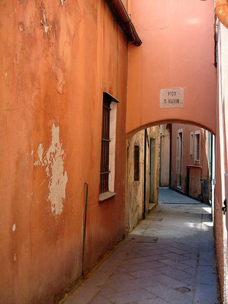 Photograph - The Alley Before Midday by Lynda Lehmann