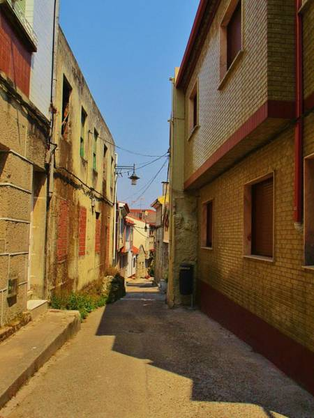 Ensenada Photograph - The Alleys Of Cangas by Rosita Larsson
