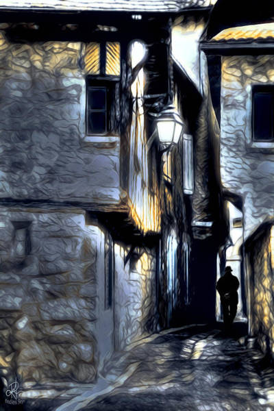 Mixed Media - The Alleyway by Pennie McCracken