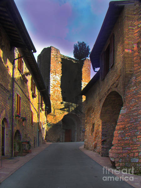 Wall Art - Photograph - The Allure Of Assisi, Italy by Al Bourassa