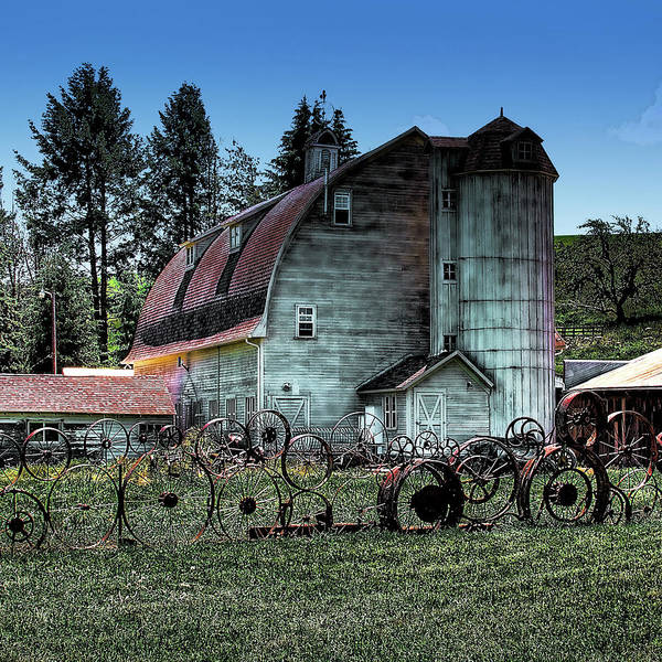 Photograph - The Amazing Dahmen Barn by David Patterson