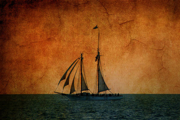 Artful Photograph - The America In Key West by Susanne Van Hulst