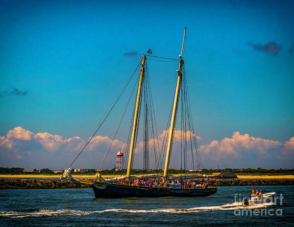 Wall Art - Photograph - The America Sails To The Sea by Nick Zelinsky