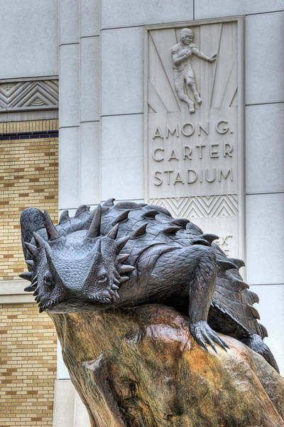 Wall Art - Photograph - The Amon G Carter Stadium by JC Findley
