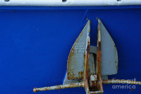 Photograph - The Anchor by Jeff Breiman