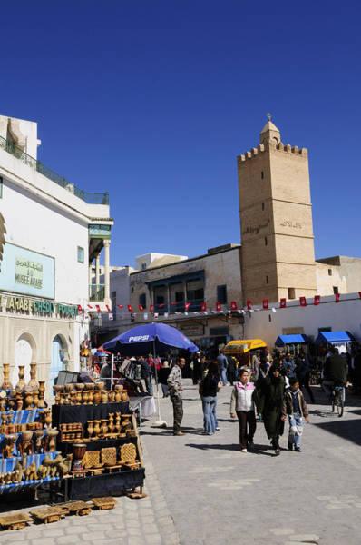 Wall Art - Photograph - The Ancient Medina At Kairouan In Tunisia by Liz Pinchen