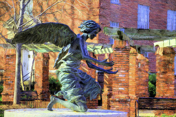 Photograph - The Angel At The Chapel Of Memories by JC Findley