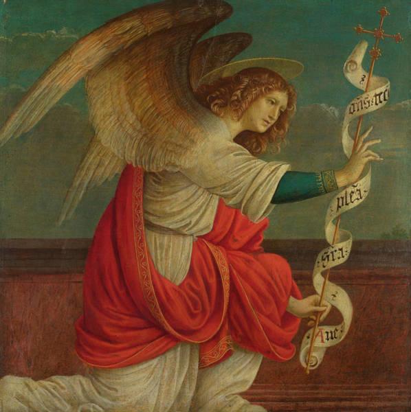 Gabriel Painting - The Angel Gabrie by Gaudenzio Ferrari
