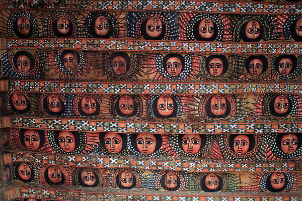 Photograph - The Angels Of Debre Birhan Selassie Church by Aidan Moran