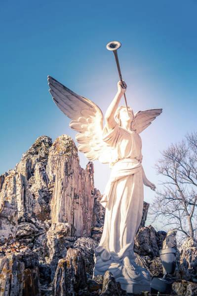 Inri Wall Art - Photograph - The Angel by Art Spectrum