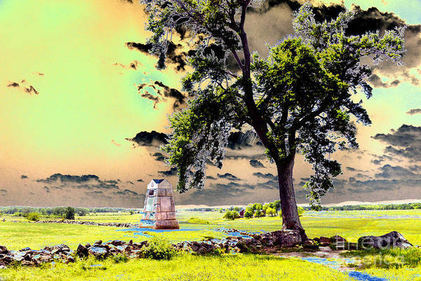 Wall Art - Photograph - The Angle At Gettysburg by Paul W Faust - Impressions of Light