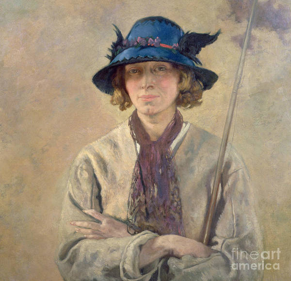 Angling Art Wall Art - Painting - The Angler, 1912 by Sir William Orpen