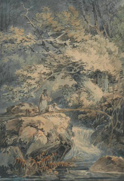 Painting - The Angler by Joseph Mallord William Turner