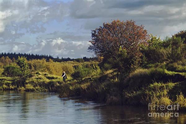Wall Art - Photograph - The Angler by Wedigo Ferchland