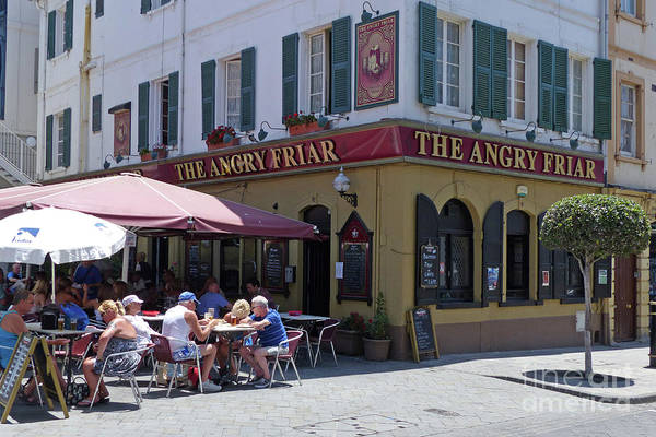Photograph - The Angry Friar - Gibraltar by Phil Banks