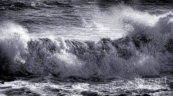 Photograph - The Angry Wave by Olivier Le Queinec
