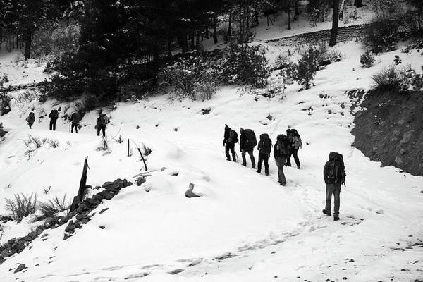 Photograph - The Annapurna Mountain Trail by Aidan Moran