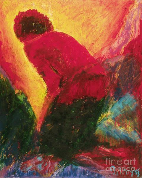 Painting - The Annunciation - Bganc by Fr Bob Gilroy SJ