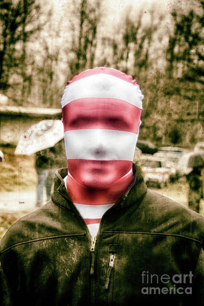 Faceless Photograph - The Anonymous  by Steven Digman