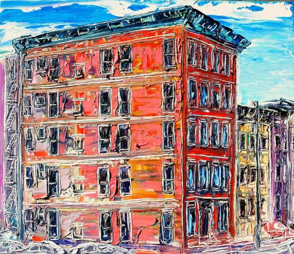 Follow Me Painting - The Apartment Building by J E T I I I