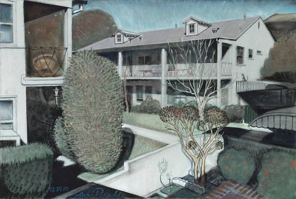 Painting - The Apartments by John Reynolds