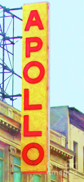 Photograph - The Apollo Theater In Harlem Neighborhood Of Manhattan New York City 20180501v2 by Wingsdomain Art and Photography