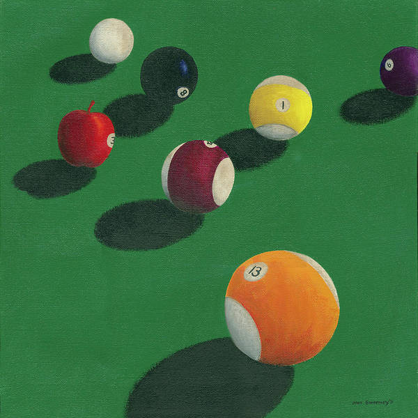 Painting - The Apple As You Don't Know It. by Stan Sweeney