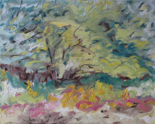 Wall Art - Painting - The Apple Tree In August by Francois Fournier