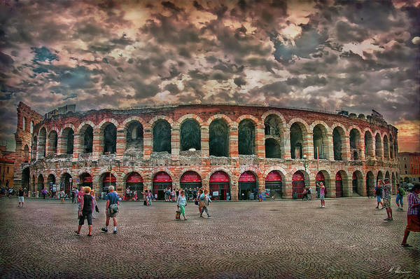 Romeo And Juliet Photograph - The Arena by Hanny Heim