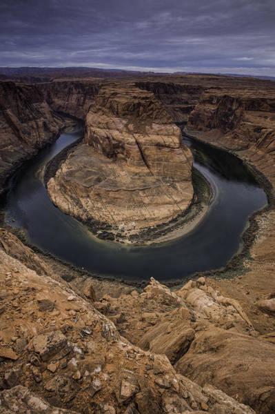 Horseshoe Bend Photograph - The Arizona Landscape by Bill Cantey