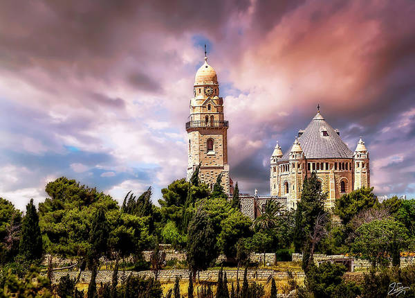 Photograph - The Armenian Church In Old Jerusalem by Endre Balogh