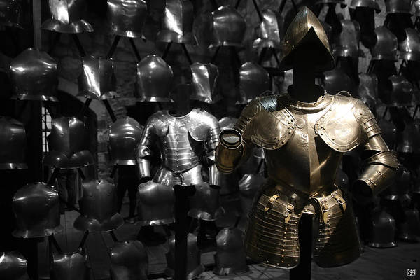 Photograph - The Armor Of Kings by John Meader