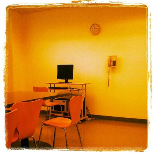 Photograph - The Art-less Staff Lunch Room At The by Tammy Winand