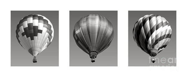 Photograph - The Art Of Ballooning One by Olivier Le Queinec